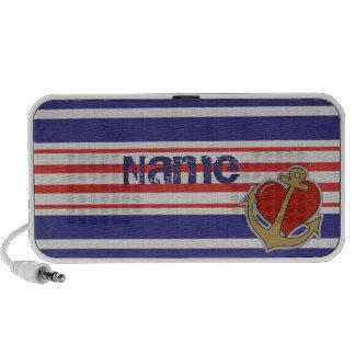 Marine Stripes Mp3 Speakers