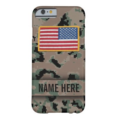 Marine Style Camouflage Case iPhone 6 Case
