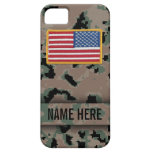 Marine Style Digital Camouflage Case iPhone 5 Cases