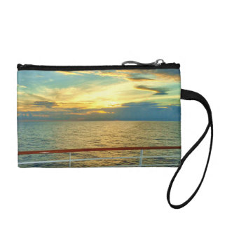Marine Sunrise Cruise Travel Accessory Change Purse