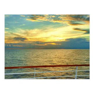 Marine Sunrise Postcard