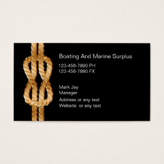 Marine Supplies Business Cards
