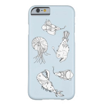 Beach Themed Marine theme barely there iPhone 6 case