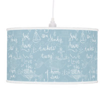 Marine Theme Beachy Cottage Pendant Lamp