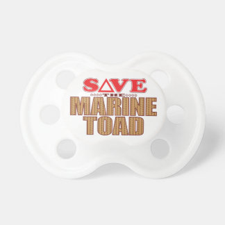 Marine Toad Save Pacifier