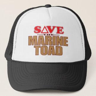 Marine Toad Save Trucker Hat