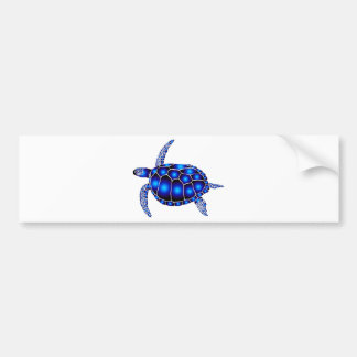 marine turtle meeres schildkröte ocean etiqueta de parachoque
