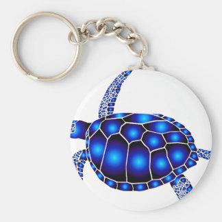 marine turtle meeres schildkröte ocean llavero redondo tipo pin
