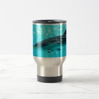 Marine Water Chic Stylish Cool Blue Whale Shark Coffee Mugs