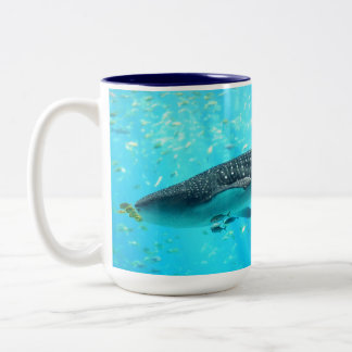 Marine Water Chic Stylish Cool Blue Whale Shark Mugs