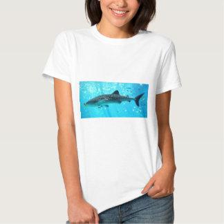 Marine Water Chic Stylish Cool Blue Whale Shark T-shirts