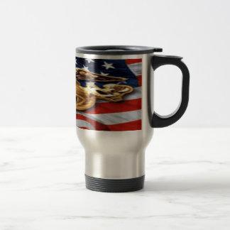 Marine whole wrap travel mug