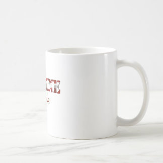 Marine Wife American Flag Coffee Mug