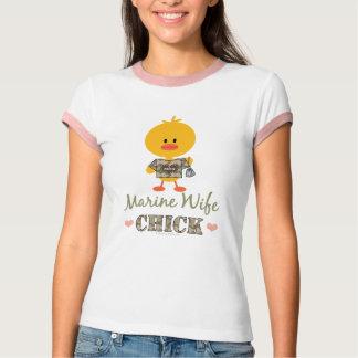 Marine Wife Chick T-shirt