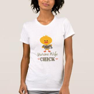 Marine Wife Chick Tee Shirt