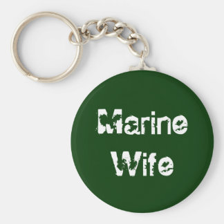 Marine WIfe Key Chain