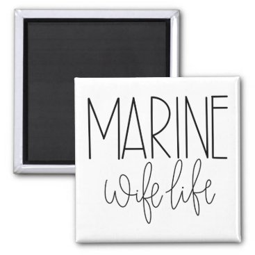 Marine Wife Magnet