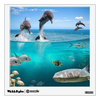 Marine Wildlife Wall Decal