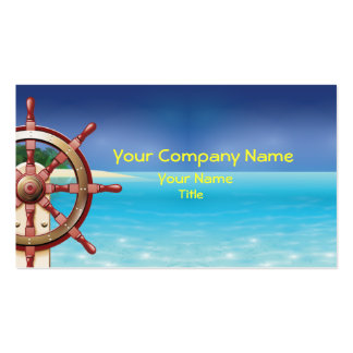 Marine Yachting Business Card Business Card