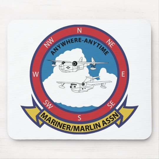 Mariner Marlin Association Mouse Pad