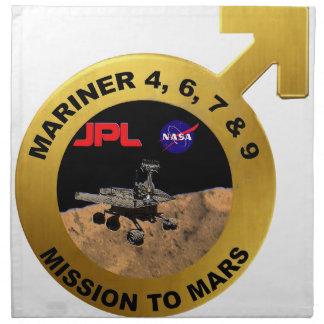 Mariner: The Early Mars Probes! Cloth Napkin