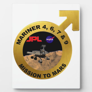 Mariner: The Early Mars Probes! Plaque