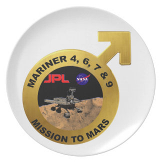 Mariner: The Early Mars Probes! Plate