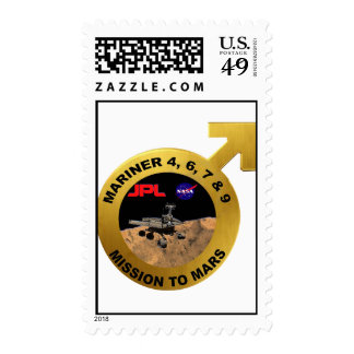 Mariner: The Early Mars Probes! Postage Stamp