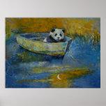 Marinero de la panda impresiones