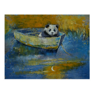 Marinero de la panda postales