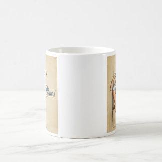 Marinero del pozo hola taza básica blanca