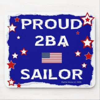 Marinero orgulloso 2BA - en honor - Mousepad