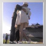Marinero que besa a la enfermera en San Diego Impresiones