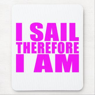 Marineros del chica: Me navego por lo tanto estoy Tapete De Ratones