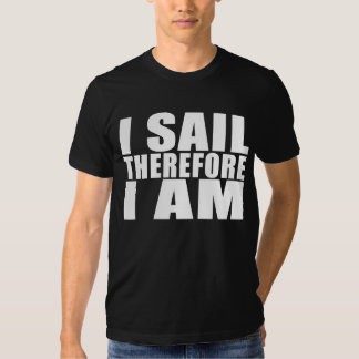 Marineros divertidos: Me navego por lo tanto estoy Poleras