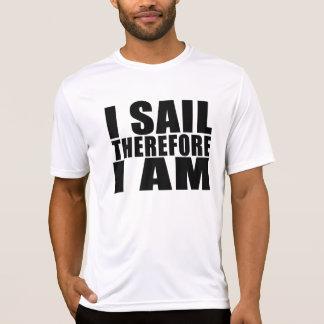Marineros divertidos: Me navego por lo tanto estoy Remeras