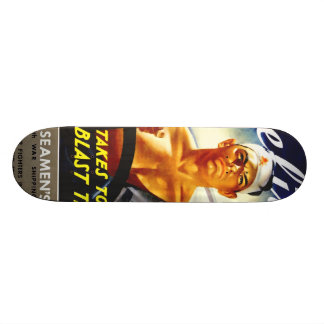 Marineros mercantil tabla de skate