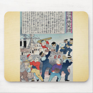 Marineros que quitan las municiones por Utagawa, K Alfombrilla De Raton