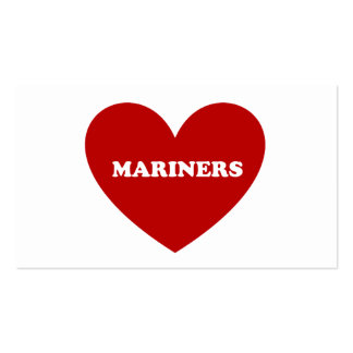 Mariners Double-Sided Standard Business Cards (Pack Of 100)