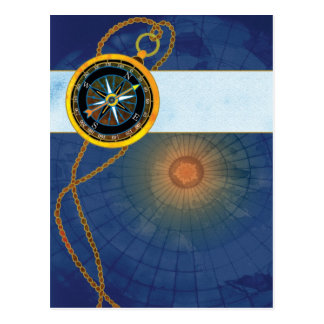Mariner's Compass Postcard