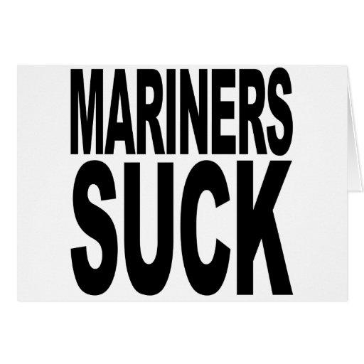 Mariners Suck Card