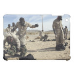 Marines and Sailors assist each other iPad Mini Cover