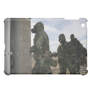 Marines and Sailors file into the gas chamber iPad Mini Cases