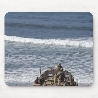 Marines anticipate the arrival mouse pad