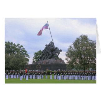 Marines at Iwo Jima Statue,Card Greeting Card