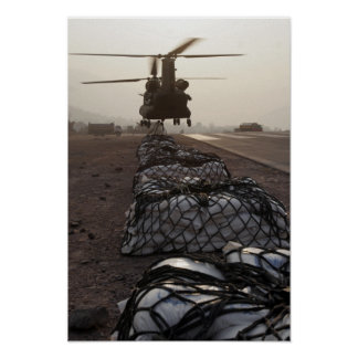 Marines attach sling loads poster