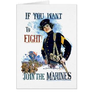 Marines Card