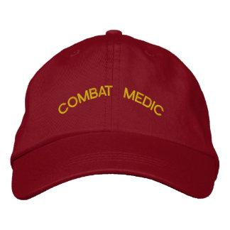 MARINES COMBAT MEDIC EMBROIDERED BASEBALL CAP