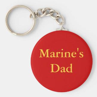"""Marine's Dad"" Keychain"