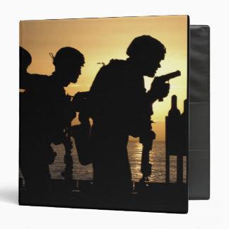 Marines fire 9mm handguns binder